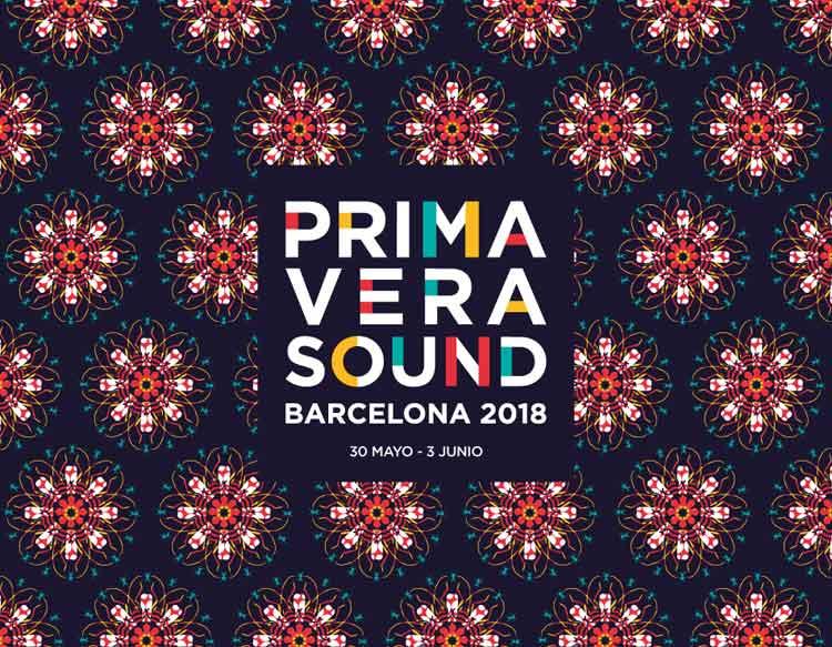 Cartel Primavera Sound 2018
