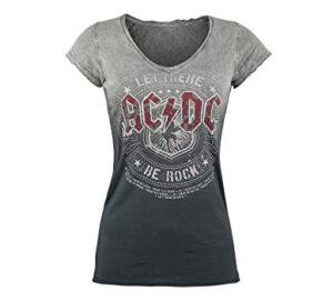 camisetas rockeras mujer